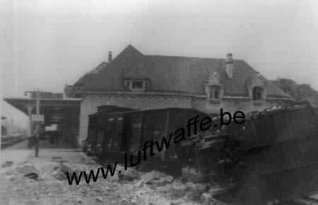 F-28100 Dreux. La gare. 1940 (1) (WL207)