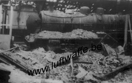 F-28100 Dreux. La gare. 1940 (2) (WL207)