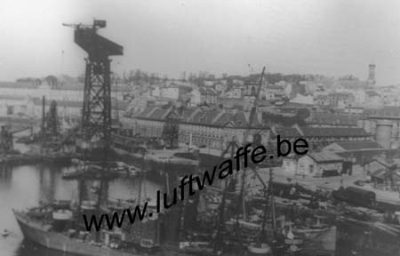 F-29200 Brest. 1941. Le port (1) (WL305)