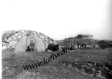 F-29242 Ouessant. Batterie. Vers 1942