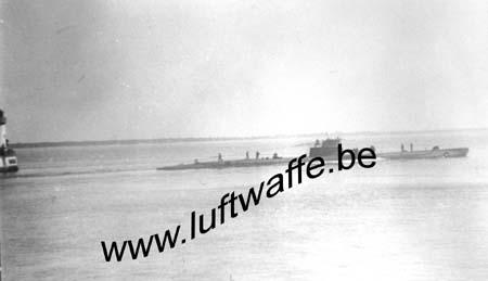F-44600 St Nazaire. U-Boot 1941 (WL101)