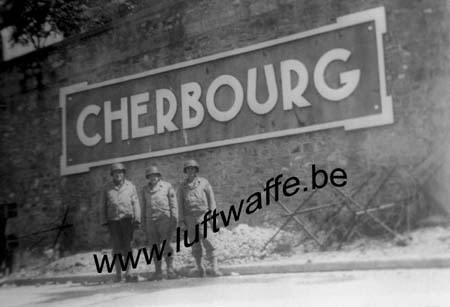 F-50100 Cherbourg. 1944. L'octroi (AR159)