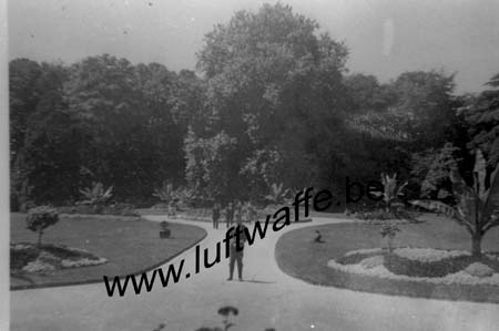 F-50300 Avranches. Jardin des plantes. 1940