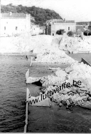 F-55300 St Mihiel. Juin 40. Pont détruit (WL72)