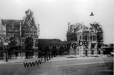 F-59140 Dunkerque. La gare. 1940 (WH58)