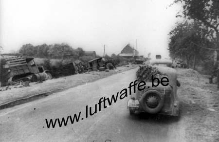 F-59440 Avesnes. Sur la route vers Cambrai. Mai 40 (WH14)