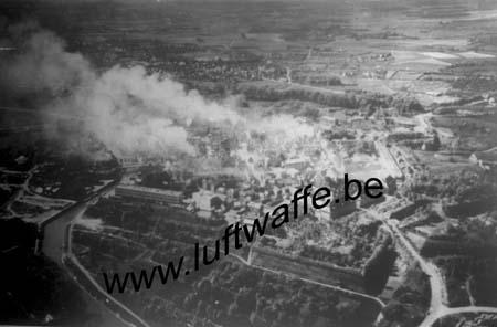 F-59600 Maubeuge. Mai 40. Attaque du fort (WL480)