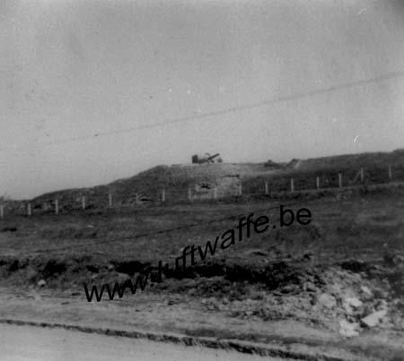 F-62200 Boulogne. Un canon côtier. Mi-40 (WH92)