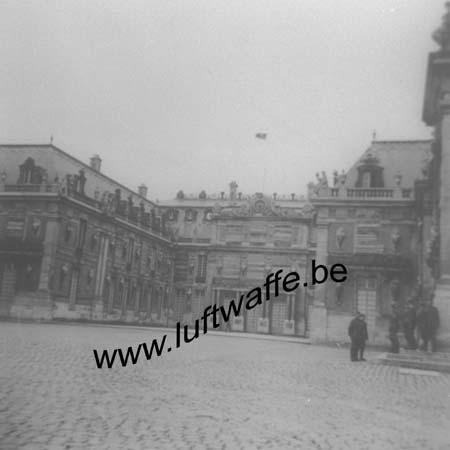 F-78000 Versailles. Le château vers août 40 (WH92)