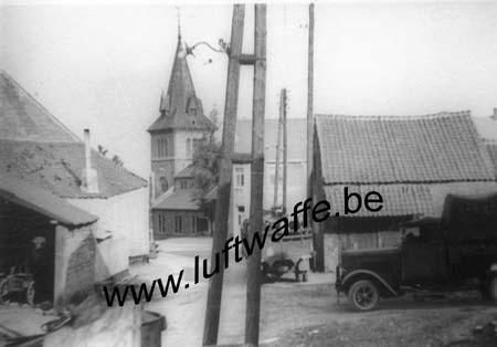 F-Nord de la France (ou Belgique). Village en mai 40 (B14)