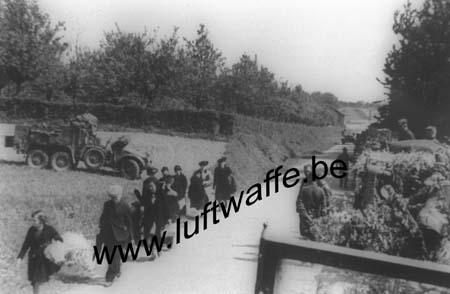 F-Nord de la France. 1940. Réfugiés (WL9)