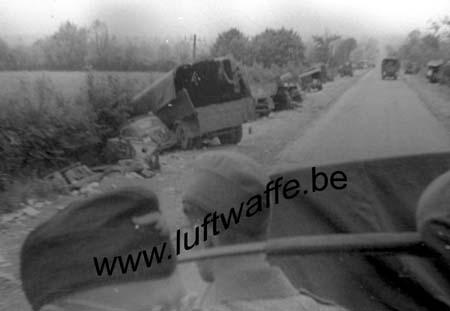 F-Nord de la France. Colonne détruite (2) (77.59)