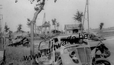 F-Nord de la France. Juin 40. Destructions (WL473)
