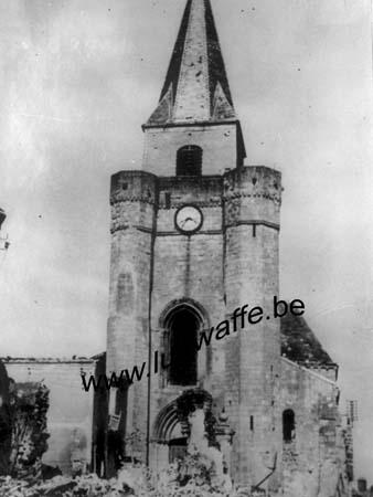 F-Nord de la France. Mai 40. Eglise détruite (WL482)