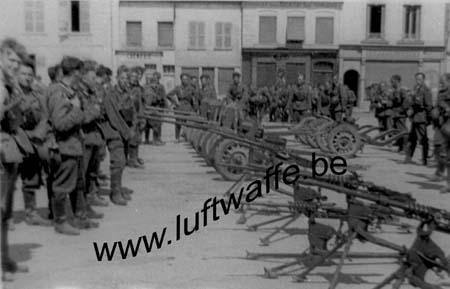 F-Nord de la France. Mai 40. Matériel capturé (WH10)