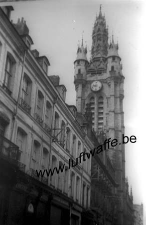 F-Nord de la France. Mai 40. Un beffroi (WH3)