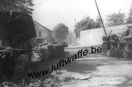 F-Nord de la France. Pz. III et autres Pz. détruits (WH1)