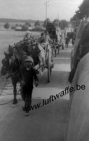 F-Nord de la France. Réfugiés (WL447)