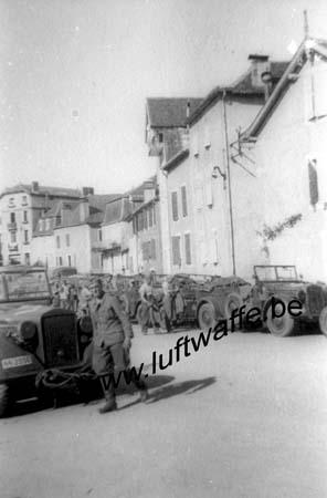 F-Nord de la France. Unité SS en 40 (WH70)