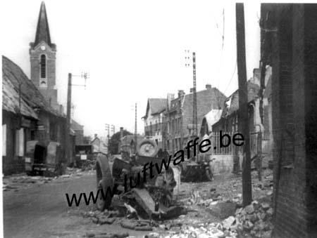 F-Nord de la France. Véhicules détruits (WH67)