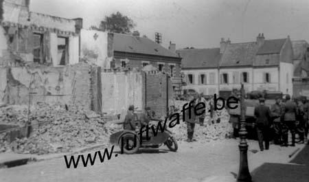 F-Village détruit. Mai 40 (77.111)