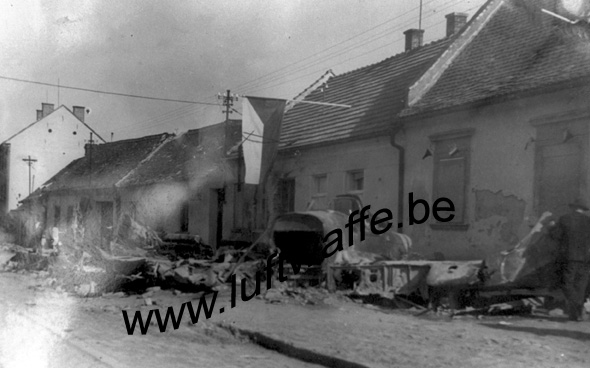 SP-Il-2. 45. Shot down in Slavkov (WL110)