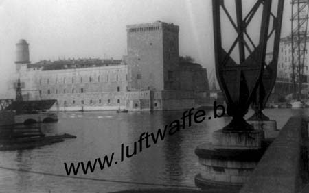 F-13000 Marseille. 1942. Le fort (WL609)
