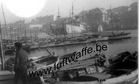F-13000 Marseille. 1942. Le port (WL609)