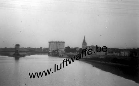 F-13150 Tarascon. 1943. Vue du train (WL198)