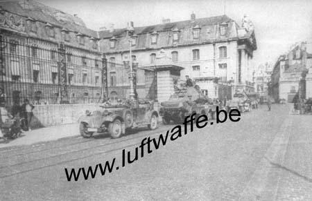 F-21000 Dijon. Mai 40. Entrée des Allemands (WH73)