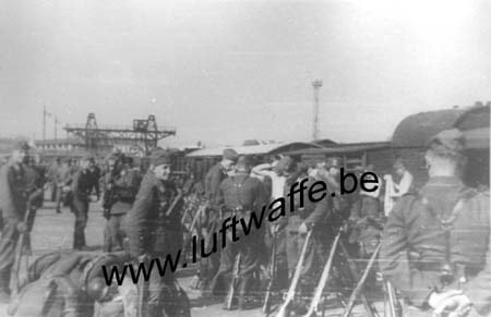 F-27500 Pont Audemer. 1942 (sept.). Gare (77.65)