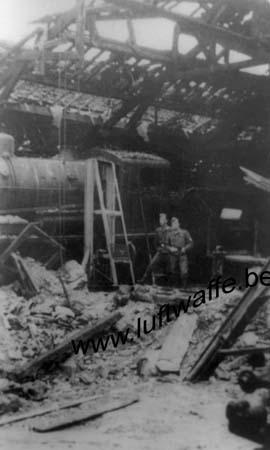 F-28100 Dreux. La gare. 1940 (3) (WL207)