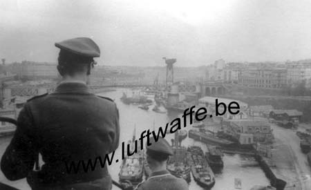 F-29200 Brest. 1941. Le port (2) (WL305)