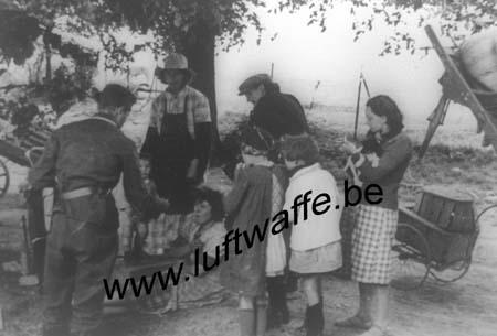 F-51120 Sézanne. 18 juin 40. Réfugiés (WL269)