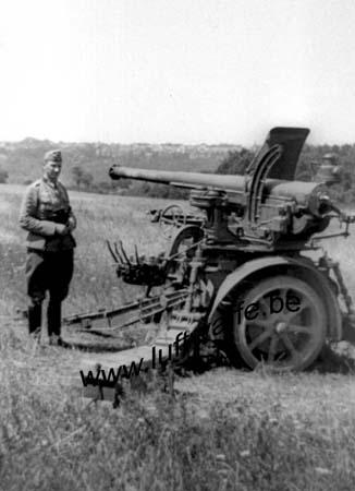 F-52000 Chaumont. Canon français capturé. Juin 40 (WH7)