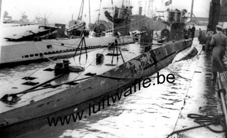 F-56100 Lorient. U-Boote en mars 41 (WH7)