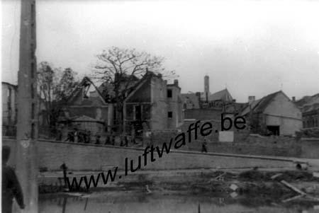 F-59111 Bouchain. Mai 40. Visite d'A. Hitler (WH28)