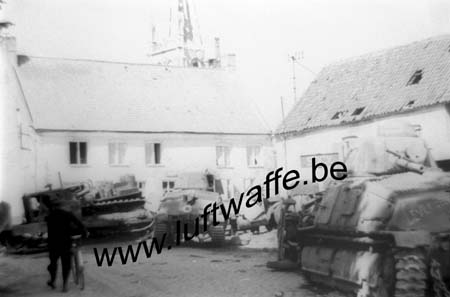 F-59140 Dunkerque (région). Somua rassemblés en 40 (WH63)