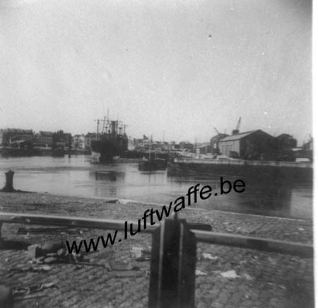 F-59140 Dunkerque. Le port. Fin 40 (WH92)