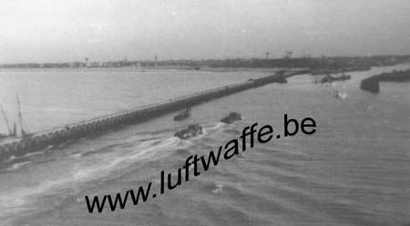 F-59140 Dunkerque. Vue de la mer. Fin 1940 (WH10)