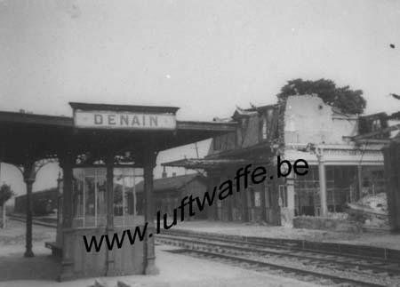 F-59220 Denain. 1940. La gare (WL427)