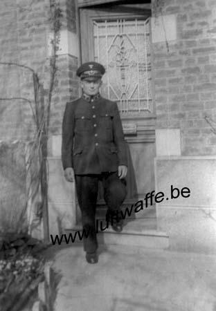 F-59430 St Pol. 1942. Un officier de la Reichsbahn (WL14)