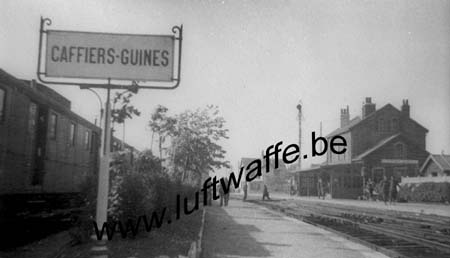 F-62132 Caffiers. Gare (mai 40) (WH1)