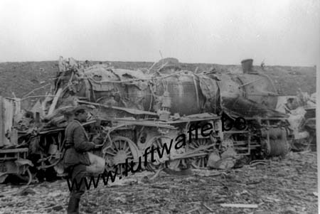 F-62340 Guines. Locomotive détruite. Mai 40 (WH1)