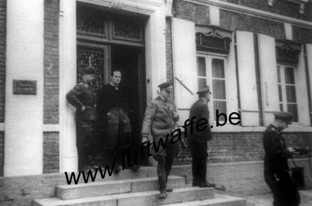 F-62500 St Omer. 1941. Cantonnement (WL538)