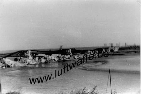 F-62630 Etaples. Mai 40. Pont détruit (WL303)
