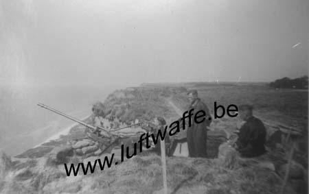 F-76600 Le Havre. 1941. Flak défendant l'aérodrome (WL326)
