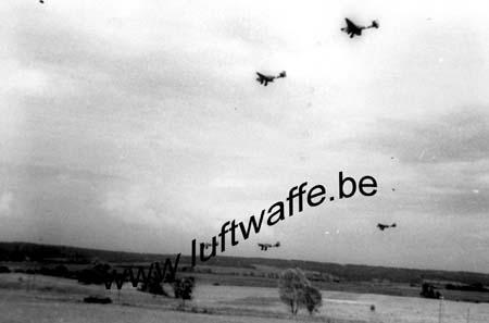 F-80000 Amiens (secteur). Décollage de Ju 87. Mai 40 (WL9)