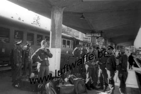 F-90000 Belfort. 1943. En gare (WL198)