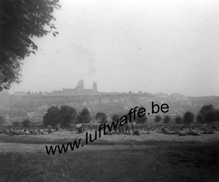 F-02000 Laon. Mai-juin 40. Camp de PG dans la plaine (WL247)